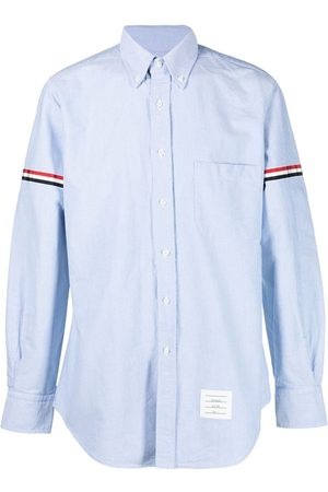 Thom Browne Hombre Camisas - Camisa oxford en grosgrain