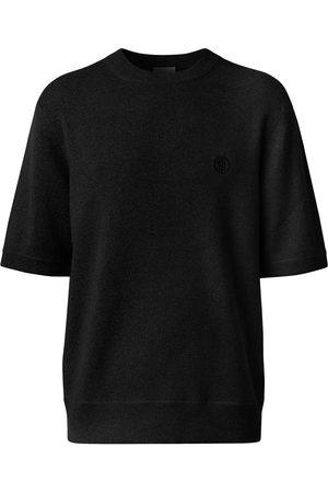 Burberry Hombre Playeras - Embroidered-logo short-sleeve top