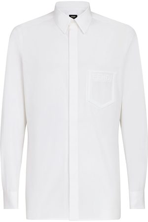 Fendi Logo-detail shirt