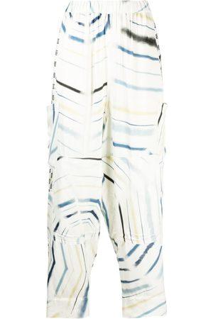 AMBUSH Geometric-print trousers