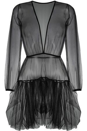 Alchemy Mujer Cortos - Vestido corto semitraslúcido