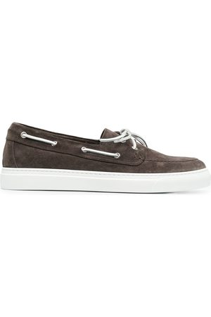 HENDERSON BARACCO Hombre Zapatos casuales - Zapatos top sider con detalle de agujetas