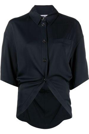 AMBUSH Mujer Camisas - Curved-hem button-up shirt