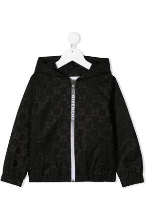 Givenchy Niño Bomber - Logo-print hooded jacket