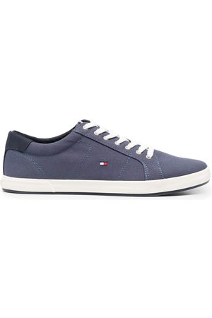 Tommy Hilfiger Hombre Tenis - Embroidered-logo detail sneakers