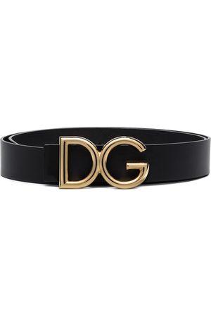 Dolce & Gabbana Cinturón con hebilla de placa DG