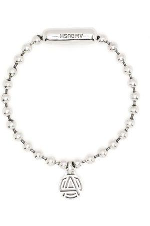 AMBUSH Hombre Pulseras - Emblem charm bracelet