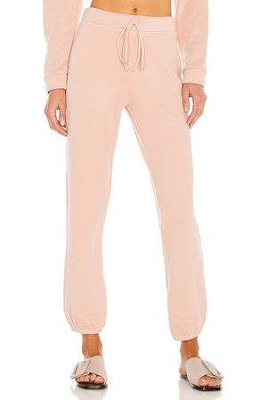 Lanston Mujer Pantalones - Pantalón deportivo en color rubor talla L en - Blush. Talla L (también en M, S, XS).
