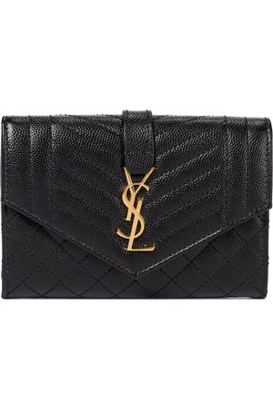 Saint Laurent Mujer Carteras y Monederos - Envelope Small leather wallet