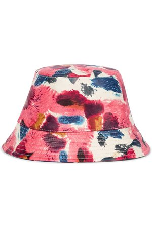 Isabel Marant Mujer Sombreros - Haley floral leather bucket hat