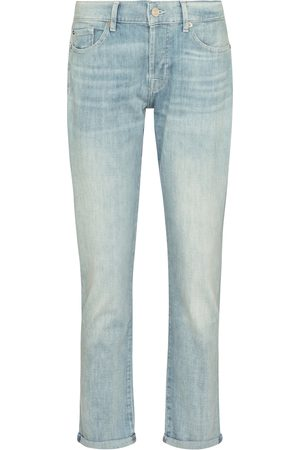 7 for all Mankind Mujer Baggy & boyfriend - Asher mid-rise boyfriend jeans