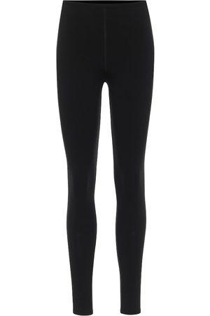Alaïa Mujer Leggings y treggings - Stretch-wool leggings