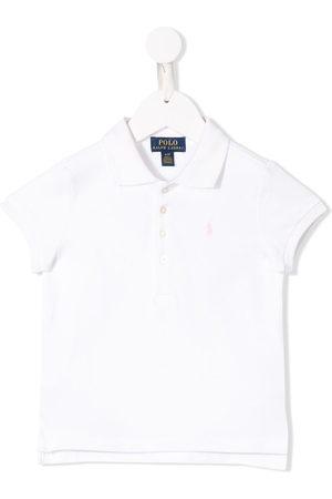 Ralph Lauren Niña Polos - Playera tipo polo con logo bordado