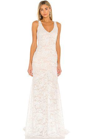 heartLoom Mujer Maxi - Vestido largo mariella en color talla L en - . Talla L (también en M, S, XS).