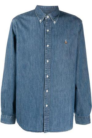 Polo Ralph Lauren Hombre De mezclilla - Camisa de mezclilla con motivo Polo Pony
