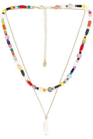 8 Other Reasons Collar bridie en color oro metálico talla all en - Metallic Gold. Talla all.