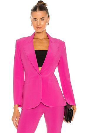 Norma Kamali Mujer Abrigos - Chaqueta en color rosado talla L en - Pink. Talla L (también en XS, S, M, XL).
