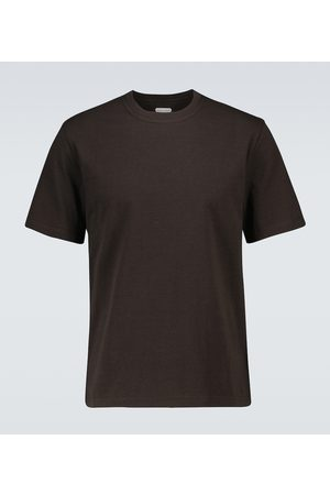 Bottega Veneta Hombre Playeras - Crewneck cotton T-shirt