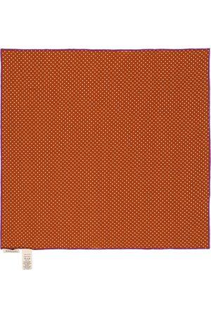 Caramel Niña Bufandas - Treasure polka dot cotton scarf
