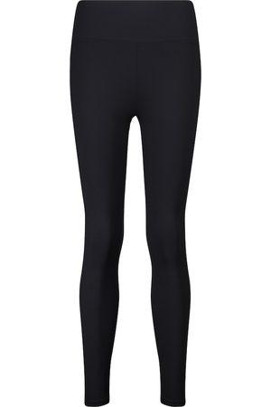 Lanston Mujer Leggings y treggings - Nolan high-rise ribbed-knit leggings