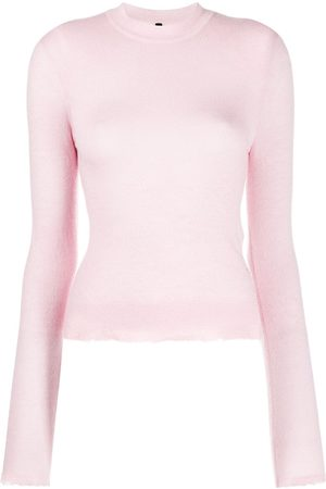 Unravel Project Mujer Suéteres - Suéter con detalles rasgados