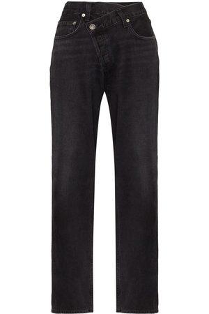 AGOLDE Mujer Jeans - Jeans anchos con diseño cruzado