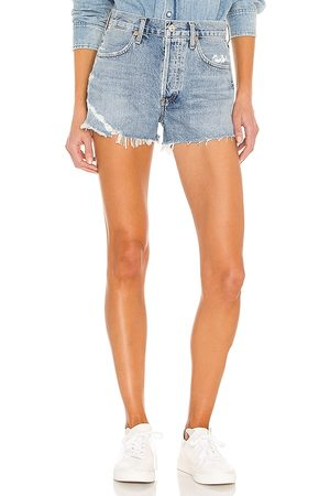 Citizens of Humanity Mujer Shorts - Annabelle cut off short en color azul talla 23 en - Blue. Talla 23 (también en 24, 25, 26, 27, 2
