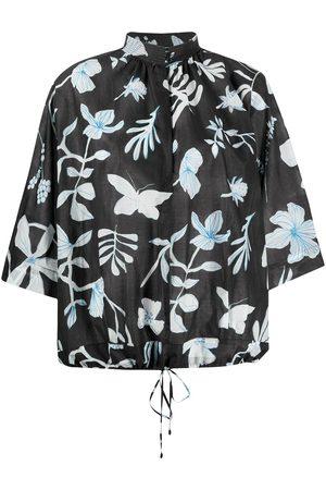 CHRISTIAN WIJNANTS Blusa con estampado floral