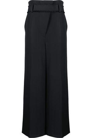 AERON Mujer De vestir - Pantalones con tiro alto y cinturón