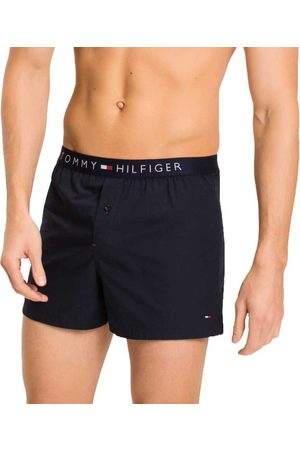Tommy Hilfiger Cotton Woven Boxer Icon
