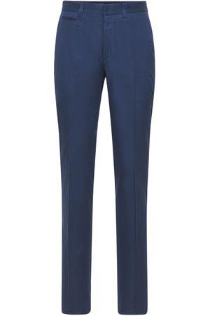 "BRIONI Pantalones ""arosa"" De Gabardina De Algodón 20cm"