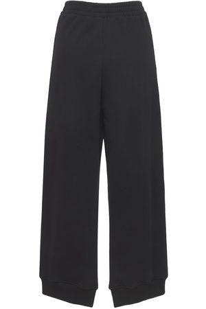 MM6 MAISON MARGIELA Mujer Pantalones - Pantalones Deportivos De Jersey De Algodón