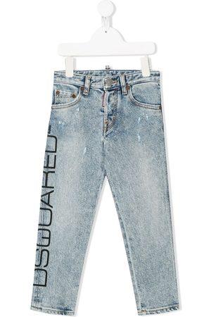 Dsquared2 Jeans con logo estampado