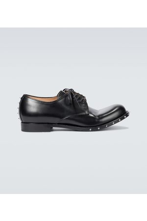 UNDERCOVER Studded leather Derby shoes