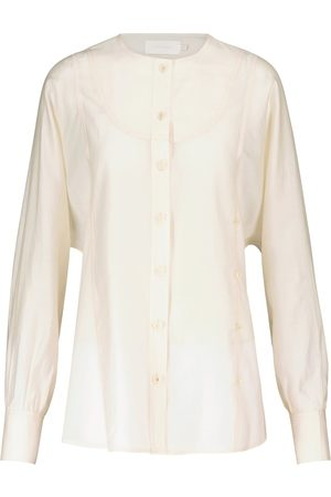 Low Classic Mujer Camisas - Collarless shirt
