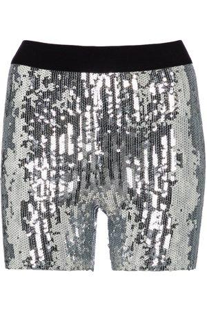 JUNYA WATANABE Sequined high-rise shorts