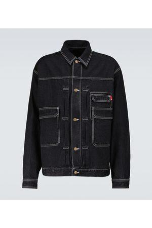 UNDERCOVER Hombre De mezclilla - Buttoned denim blouson jacket
