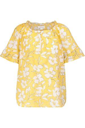 Velvet Mujer Estampados - Idette floral cotton blouse