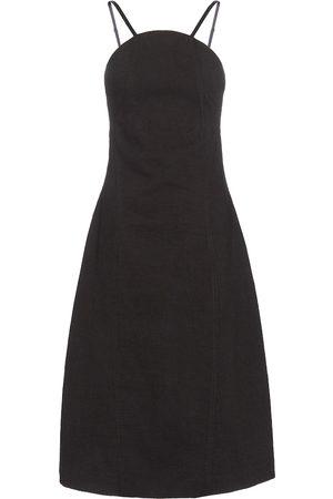 Low classic Mujer Midi - Cotton-blend midi dress