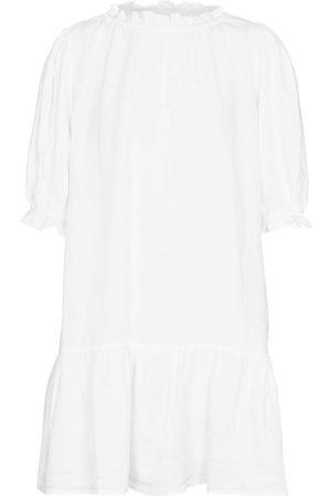 Velvet Mujer Cortos - Bernice linen minidress