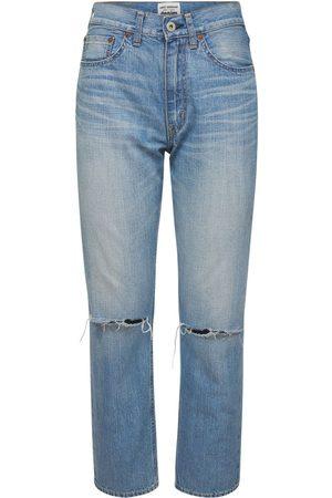 JUNYA WATANABE Jeans De Algodón Desgastados
