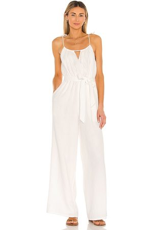 Lovers + Friends Cece jumpsuit en color blanco talla L en - White. Talla L (también en M, S, XL, XS, XXS).