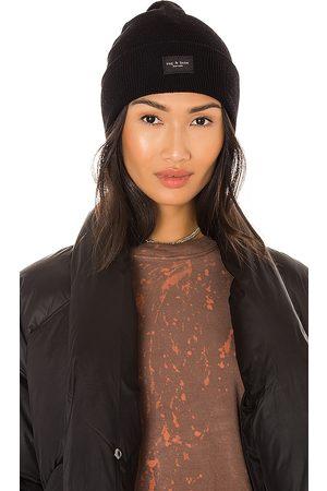RAG&BONE Mujer Gorros - Gorro addison en color talla all en - Black. Talla all.