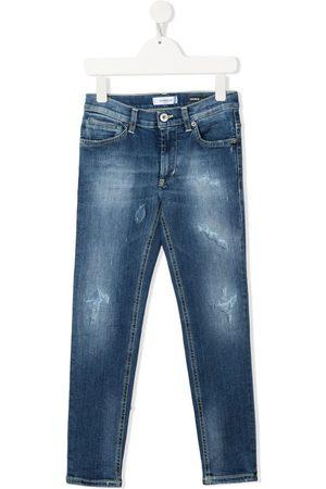 Dondup Niño Jeans - Jeans slim con efecto envejecido