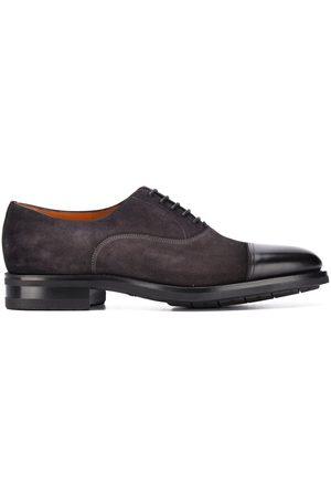 santoni Hombre Zapatos casuales - Zapatos con agujetas y puntera en contraste