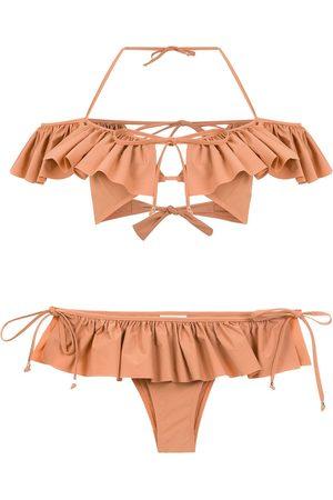 AMIR SLAMA Mujer Bikinis - Bikini con volantes