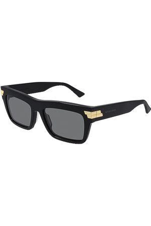 Bottega Veneta Gafas de sol ribbon rectangle en color negro talla all en - Black. Talla all.