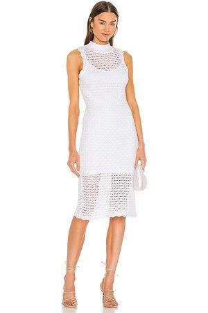 525 America Vestido en color blanco talla L en - White. Talla L (también en XS, S, M, XL).