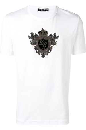 Dolce & Gabbana Playera con emblema del logo