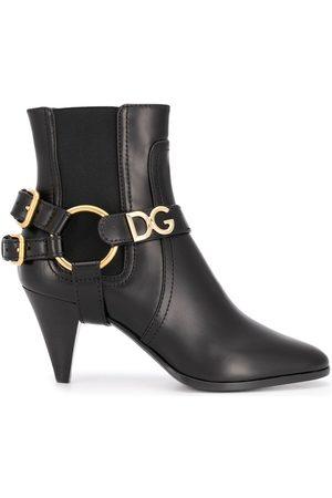 Dolce & Gabbana Botas con hebilla doble